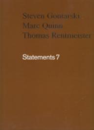 Statements 7