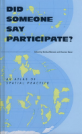 Did Someone Say Participate An Atlas Of Spatial Practice