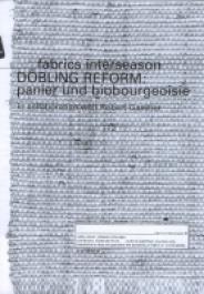 DÖBLING REFORM: panier und biobourgeoisie