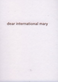 dear international mary
