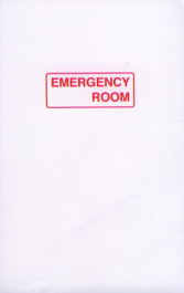 Emergency Room Dictionary