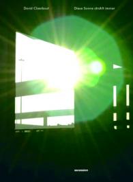 DAVID CLAERBOUT - Diese Sonne strahlt immer