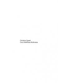 Christina Goestl: Coco MattRosa Multiverse - BAND 1