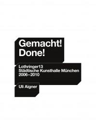 Gemacht! Done!